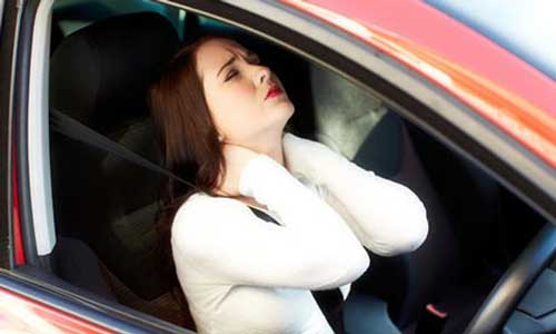 how long will i be sore after a car accident