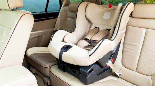 baby car seat and car accidents