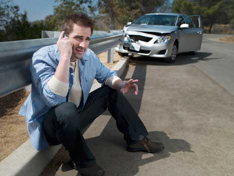workers comp car accident